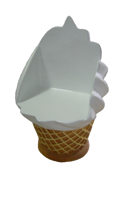 Makieta – fotel lodowy